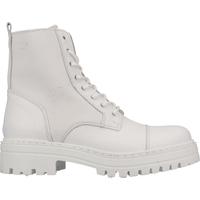 Chaussures Femme Boots Steven New York Bottines Weiß