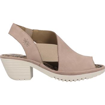 Chaussures Femme Polo Ralph Lauren Fly London Sandales Beige