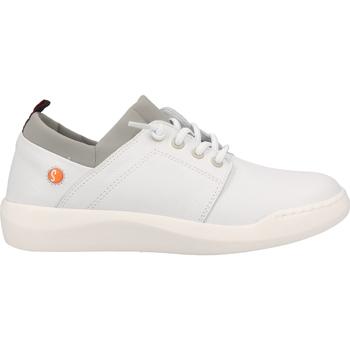 Chaussures Femme Baskets basses Softinos Sneaker Weiß/Grau
