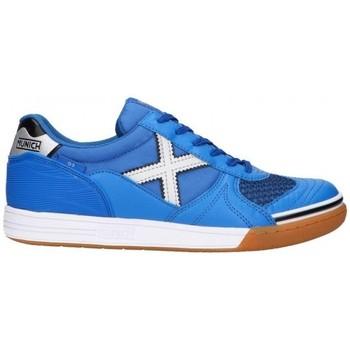 Chaussures Homme Baskets basses Munich G-3 INDOOR 3111136 Bleu