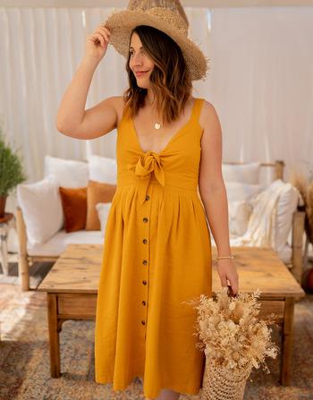 Vêtements Femme Robes longues Céleste CAMOMILLE Jaune