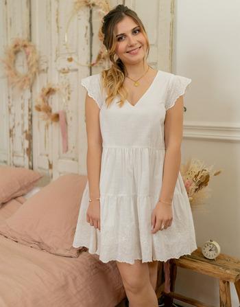 Vêtements Femme Robes courtes Céleste DAHLIA Blanc