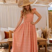 Vêtements Femme Robes longues Céleste AURORE Rose