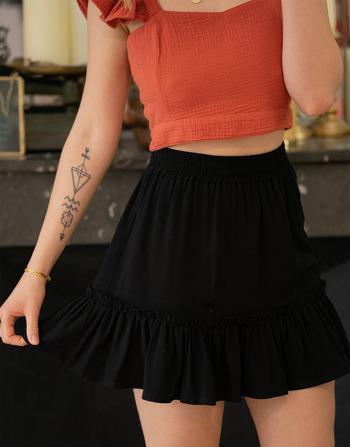 Vêtements Femme Jupes Céleste AZALEE Noir