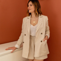 Vêtements Femme Vestes / Blazers Céleste ALIZE Beige