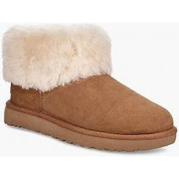 Chaussures Femme Boots UGG Boots CLASSIC MINI FLUFF Naturel