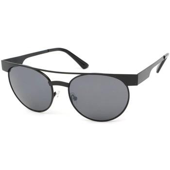Montres & Bijoux Lunettes de soleil Eye Wear Lunettes Soleil Friends monture noire verres noires Noir