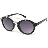 Montres & Bijoux Lunettes de soleil Eye Wear Lunettes Soleil Diva monture noire et argent Noir