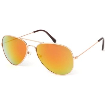 Montres & Bijoux Lunettes de soleil Eye Wear Lunettes Soleil Heartbreaker dorée reflets Jaune Jaune