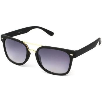 Montres & Bijoux Lunettes de soleil Eye Wear Lunettes Soleil Clash monture Noire et Dorée Noir