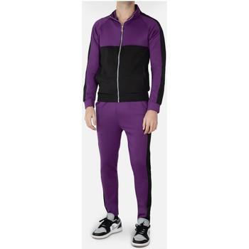 Vêtements Homme Ensembles de survêtement Kebello Ensemble survêtement Taille : H Violet S Violet