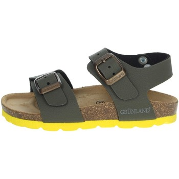 Chaussures Enfant Sandales et Nu-pieds Grunland SB0901-40 Vert foncé