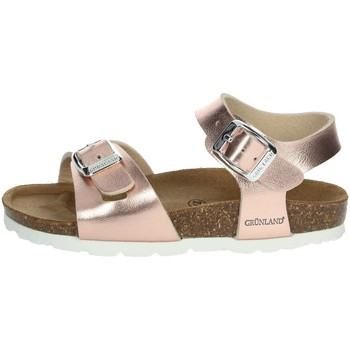 Chaussures Fille Sandales et Nu-pieds Grunland SB0646-40 Poudre rose
