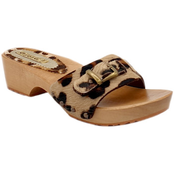 Chaussures Femme Mules My Clogs MY62 Leopard