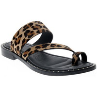Chaussures Femme Mules Freelance STUDY CUT OUT MULE LEOPARD