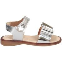 Chaussures Fille Sandales et Nu-pieds Andanines 211440 ARGENT