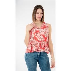 Vêtements Femme Tops / Blouses Molly Bracken la436be21 jungle red rouge
