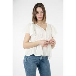 Vêtements Femme Tops / Blouses Molly Bracken la623p21 offwhite blanc