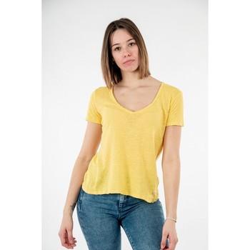 Vêtements Femme T-shirts manches courtes Please t0ay 1237 giallo minerale jaune