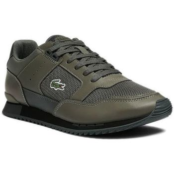 Chaussures Homme Baskets mode Lacoste Basket Kaki