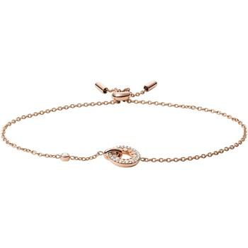 Montres & Bijoux Femme Bracelets Fossil Bracelet  Mop Links Rose