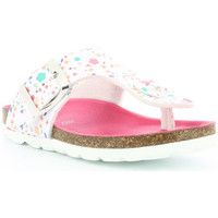 Chaussures Fille Tongs Kickers Summeriza BLANC