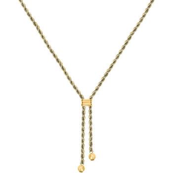 Montres & Bijoux Femme Colliers / Sautoirs Cleor Collier  en Or 750/1000 Jaune Jaune