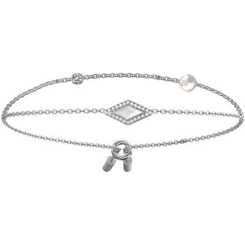 Montres & Bijoux Femme Bracelets Fossil Bracelet  Be Iconic Blanc