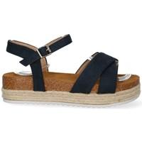 Chaussures Femme Sandales et Nu-pieds Luna 56251 bleu