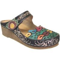 Chaussures Femme Sabots Laura Vita Facscineo 09 Noir multi