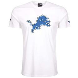 Vêtements T-shirts manches courtes New-Era T-Shirt NFL Detroit Lions New Multicolore