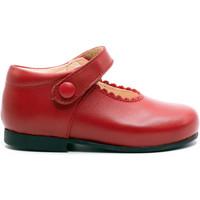 Chaussures Fille Ballerines / babies Boni & Sidonie Babies en cuir à boucles - VICTORIA Rouge