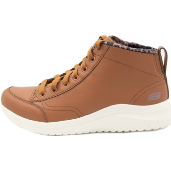 Chaussures Femme Baskets montantes Skechers Ultra Flex 2.0 Plush Zone Marron
