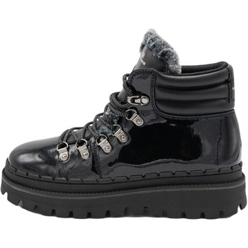 Chaussures Femme Baskets montantes Skechers Jammers Cozy Retro Noir