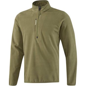 Vêtements Homme Vestes de survêtement Reebok Sport Fitness Outdoor Fleece Quarter Zip Vert