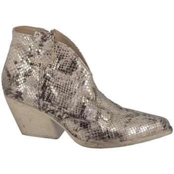 Chaussures Femme Boots Strategia Boots à Talon Bout Pointu Elena Achi Argent