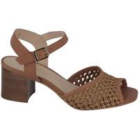 Chaussures Femme Sandales et Nu-pieds Schmoove Sandale Avec Bride Ajourée Venus Ankle Texas Cognac
