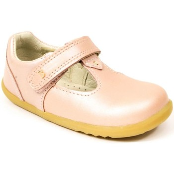 Chaussures Fille Ballerines / babies Bobux Babies cuir rose