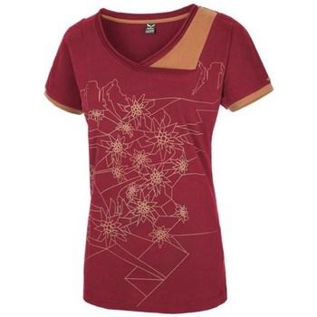 Vêtements Femme T-shirts manches courtes Salewa 251661651 Cerise