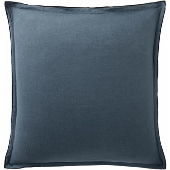 Maison & Déco Taies d'oreillers, traversins Baton Rouge Taie d'oreiller 80x80 Lin Lin uni Bleu