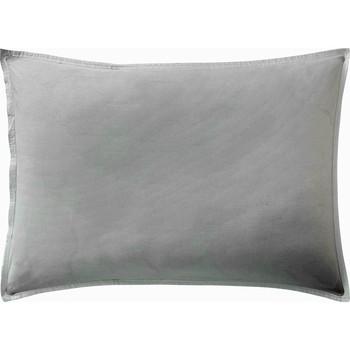 Maison & Déco Taies d'oreillers, traversins Baton Rouge Taie d'oreiller 65x65 coton Uni Blanc