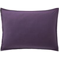 Maison & Déco Taies d'oreillers, traversins Baton Rouge Taie d'oreiller, traversin 50x70 coton uni Violet