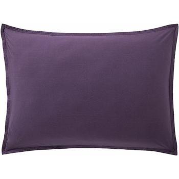 Maison & Déco Taies d'oreillers, traversins Baton Rouge Taie d'oreiller 50x70 coton Uni Violet