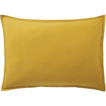 Maison & Déco Taies d'oreillers, traversins Baton Rouge Taie d'oreiller 50x70 coton Uni Jaune