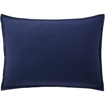 Maison & Déco Taies d'oreillers, traversins Baton Rouge Taie d'oreiller 65x65 coton Uni Bleu