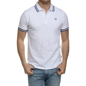 Vêtements Homme Polos manches courtes Kaporal Polo manches courtes Blanc