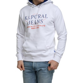 Vêtements Homme Sweats Kaporal Sweat à capuche Blanc