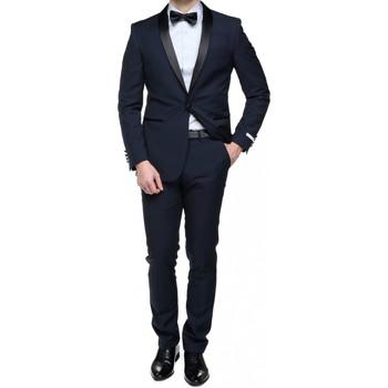 Vêtements Homme Costumes  Leader Mode Costume 2 pièces Bleu