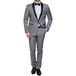 Vêtements Homme Costumes  Leader Mode Costume 2 pièces Gris