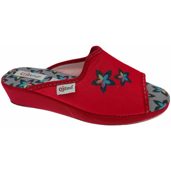 Chaussures Femme Mules Cristina CRI47ross rosso